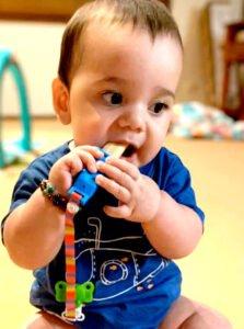 Baby Teething Rusk Holder